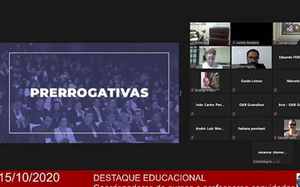 Transmissão do evento: Destaque Educacional