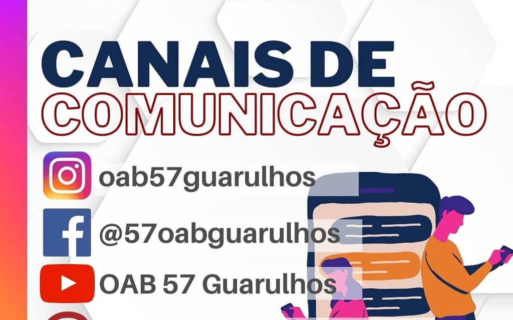 Canais de Comunicação da OAB Guarulhos