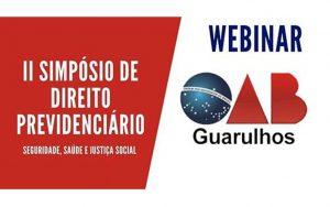 Transmissão do II Simpósio de Direito Previdenciário – Seguridade, Saúde e Justiça Social – 2º Dia