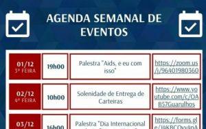 Read more about the article Agenda Semanal de Eventos