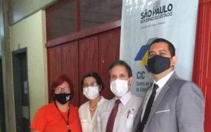 """OAB Guarulhos participa da ação """"Justiça na Comunidade"""", realizada no CIC Guarulhos"""