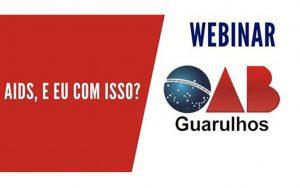 """Read more about the article Transmissão da webinar: """"Aids, e eu com isso?"""""""