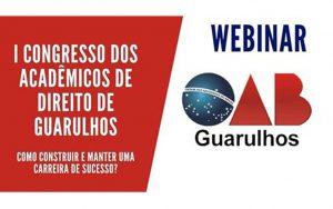 Transmissão do I Congresso dos Acadêmicos de Direito de Guarulhos