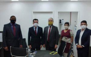 Juiz Diretor do Fórum de Guarulhos, Dr. Ricardo Scaff, visita o Polo Bonsucesso/ Pimentas