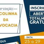 Participe da 25ª Edição da Escolinha da Advocacia