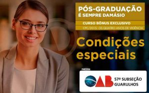 Pós-graduação na Damásio Educacional – Desconto Especial
