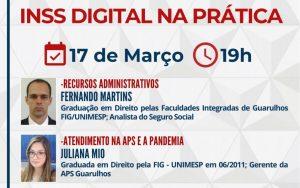 17.03 – INSS Digital na Prática