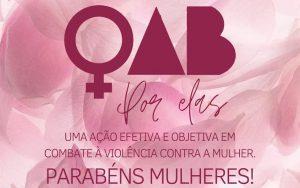 Março, mês das mulheres.