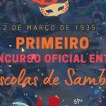 2 de março de 1935– Primeiro Concurso Oficial entre Escolas de Samba