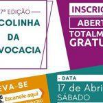 17/04 – 27ª Edição da Escolinha da Advocacia
