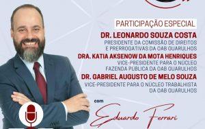 Diga lá, Presidente  – Tema: Abuso de Autoridade