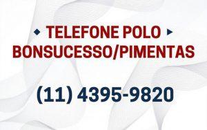 Telefone do Polo Bonsucesso