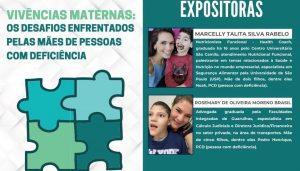 """Read more about the article Webinar sobre o tema: """"Vivências maternas – os desafios enfrentados pelas mães de pessoas com deficiência"""""""
