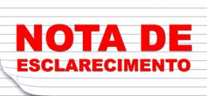 Read more about the article Nota de Esclarecimento – PROGUARU