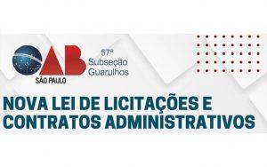 """Read more about the article Transmissão da webinar sobre: """"Nova Lei de Licitações e Contratos Administrativos"""""""