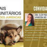 """15/06 – """"Animais Comunitários – Reflexões Jurídicas"""