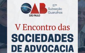 Read more about the article Transmissão do V Encontro das Sociedades de Advocacia