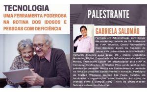 """Read more about the article Transmissão da webinar sobre o tema: """"Tecnologia – Uma ferramenta poderosa na rotina dos idosos e pessoas com deficiência"""""""
