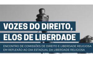 """Read more about the article Transmissão da webinar sobre o tema: """"Vozes do Direito, Elos de Liberdade"""""""