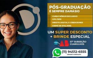 Read more about the article Cursos de Pós-graduação – Damásio