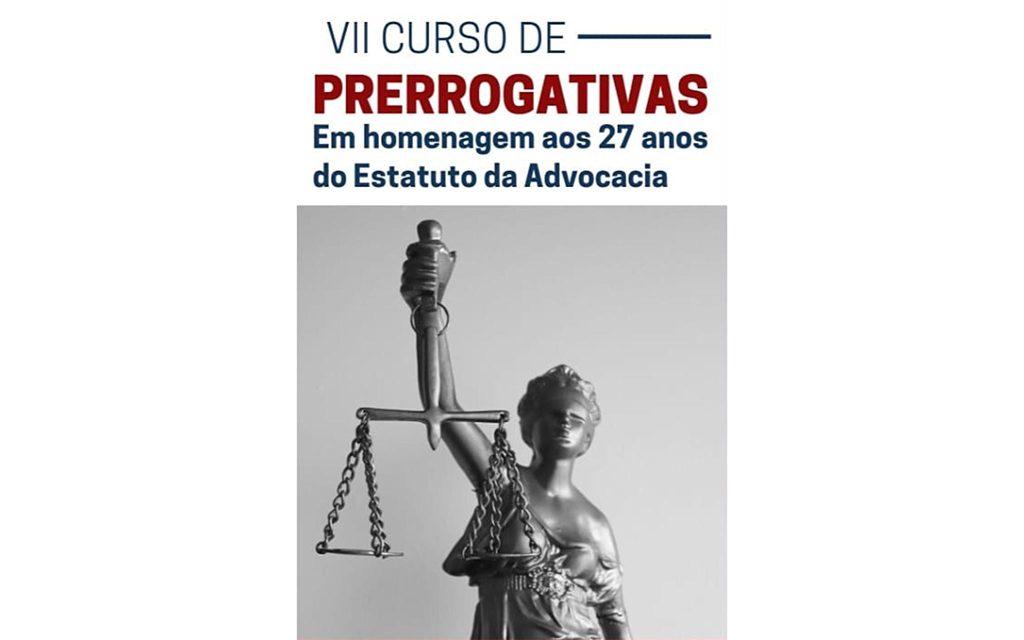 You are currently viewing Transmissão do VII Curso de Prerrogativas
