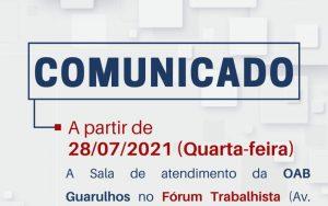 Read more about the article Comunicado Importante