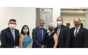 Read more about the article Reinauguração da sala de atendimento da OAB Guarulhos no Fórum Criminal