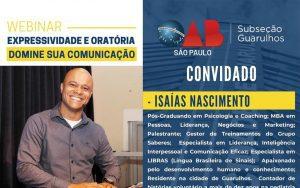 Read more about the article 21/09 – Saúde Mental na Pandemia – Desafios e Mudanças no Trabalho