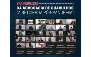 Read more about the article Transmissão do V Congresso da Advocacia de Guarulhos