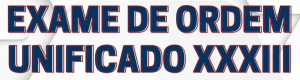 Read more about the article Exame de Ordem XXXIII